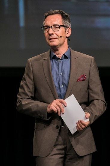 Moderator Daniel Sager