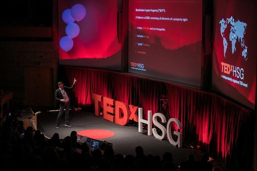 TEDx-Bühne