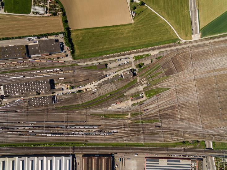 Rangierbahnhof Limmattal bei Spreitenbach.