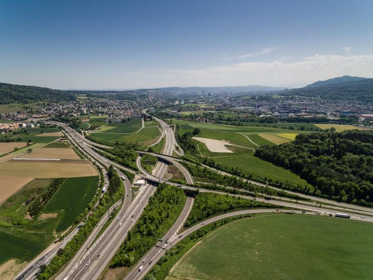 Limmattaler Autobahnkreuz.