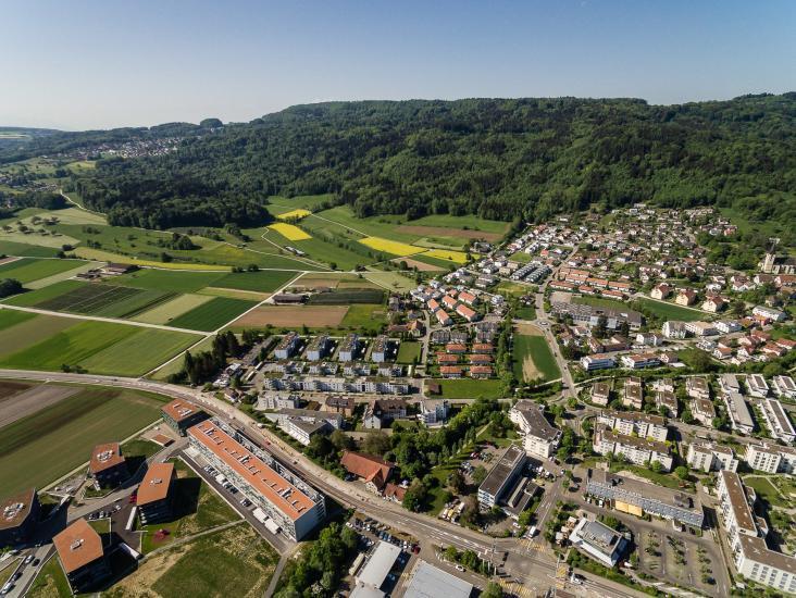 Spreitenbach im Limmattal.