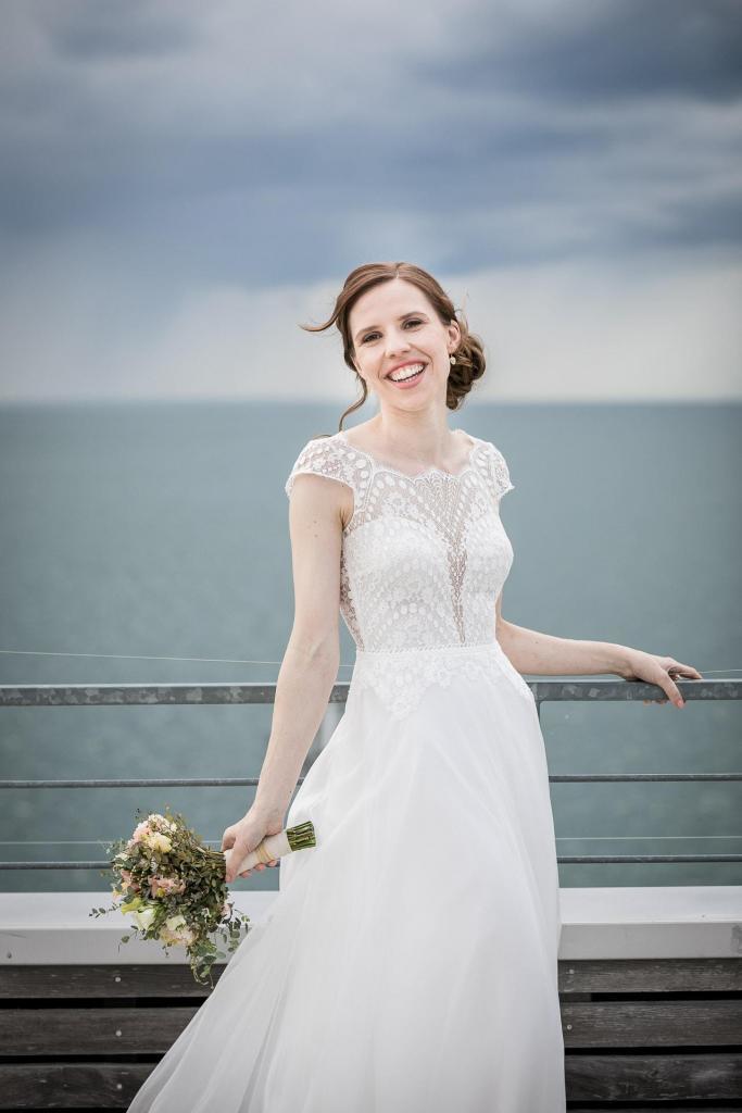 Braut am Wasser